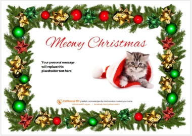 Christmas Gift Certificate Style 1