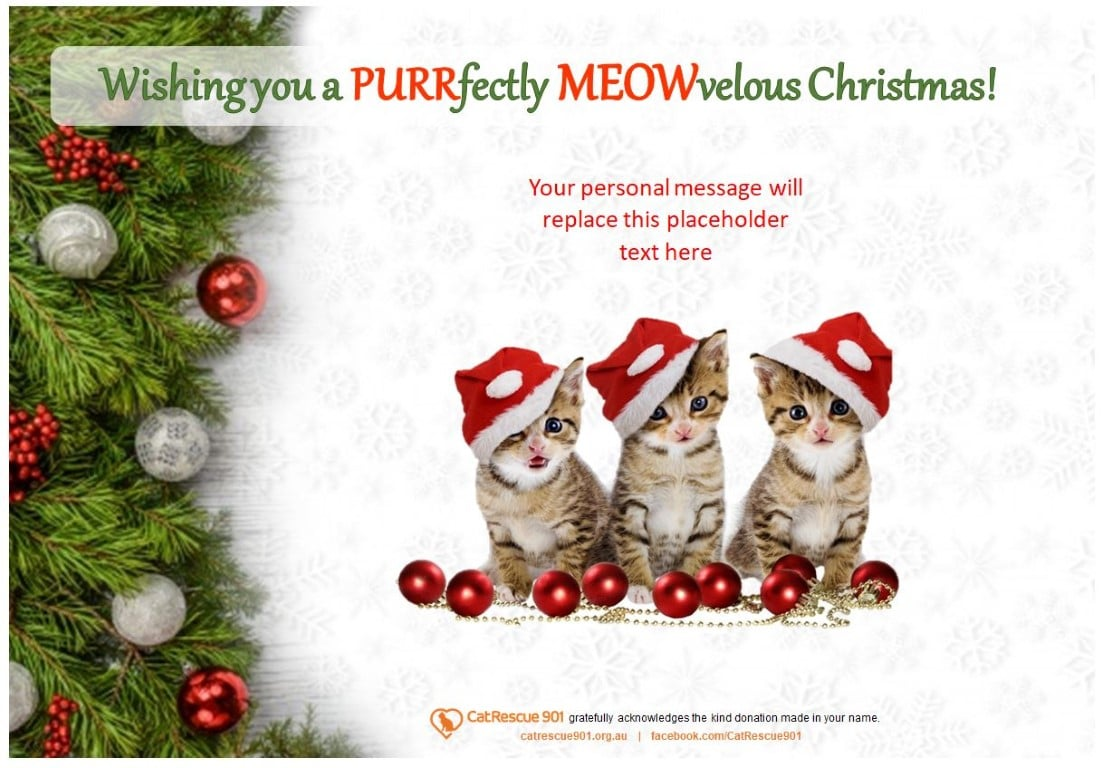 Christmas Gift Certificate Style 3