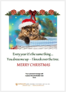 Christmas Gift Certificate Style 7