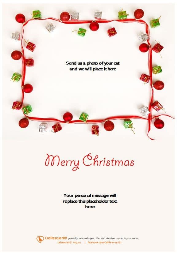 Christmas Gift Certificate Style 5
